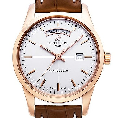 Breitling Transocean Day Date Caliber 45 Automatic - R4531012.G752.738P.R20D.1